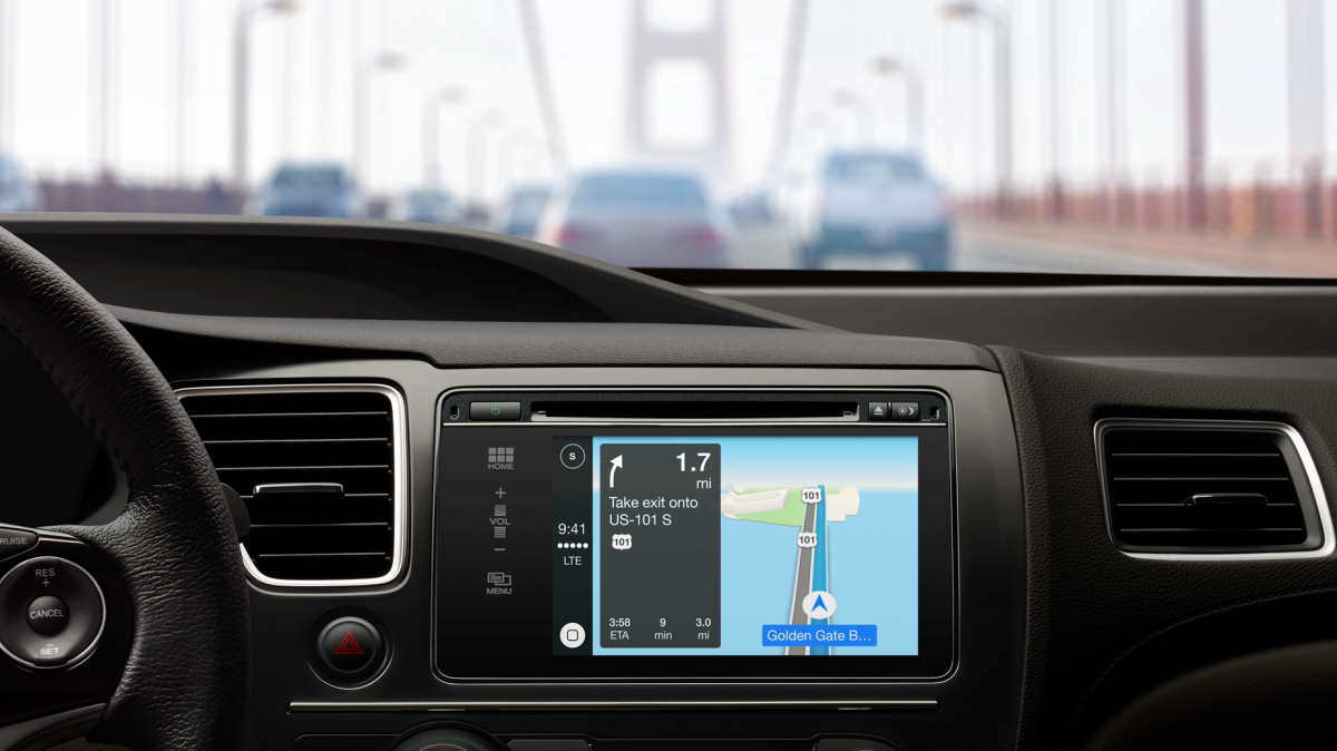 carplay maps