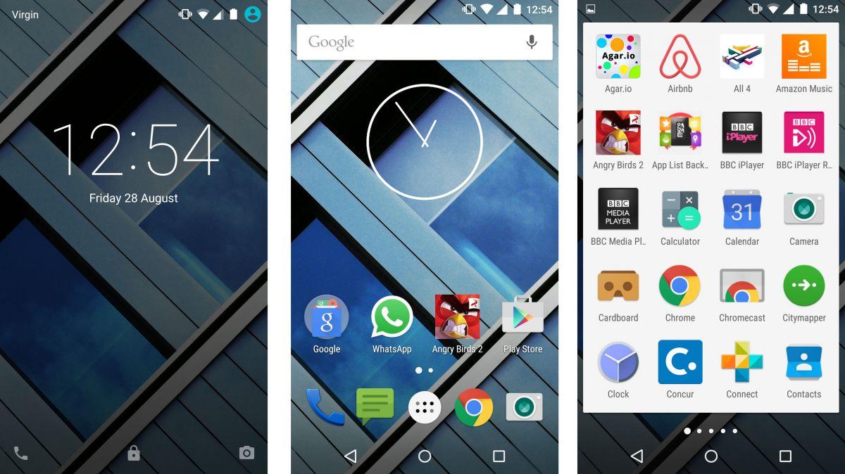 Moto X Play screenshots