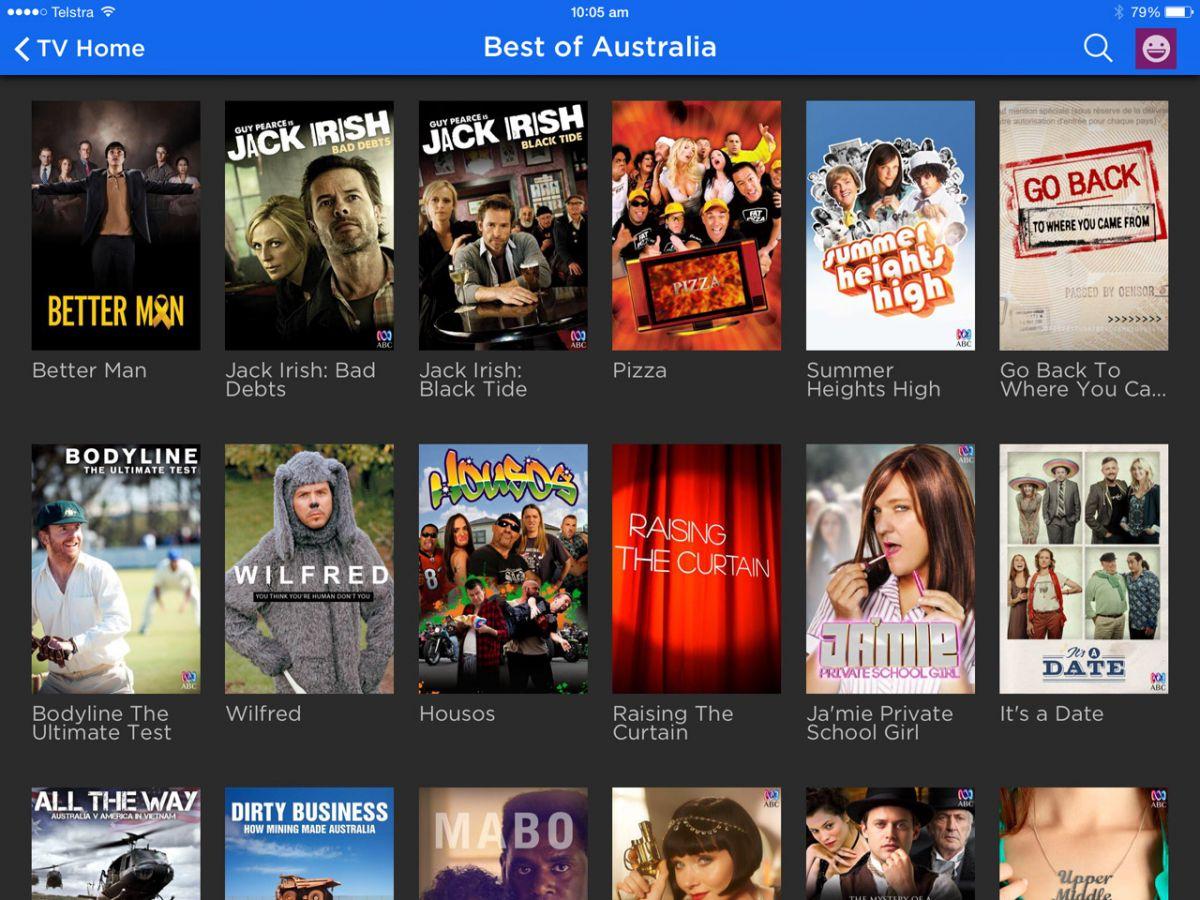 Stan Aussie TV lineup