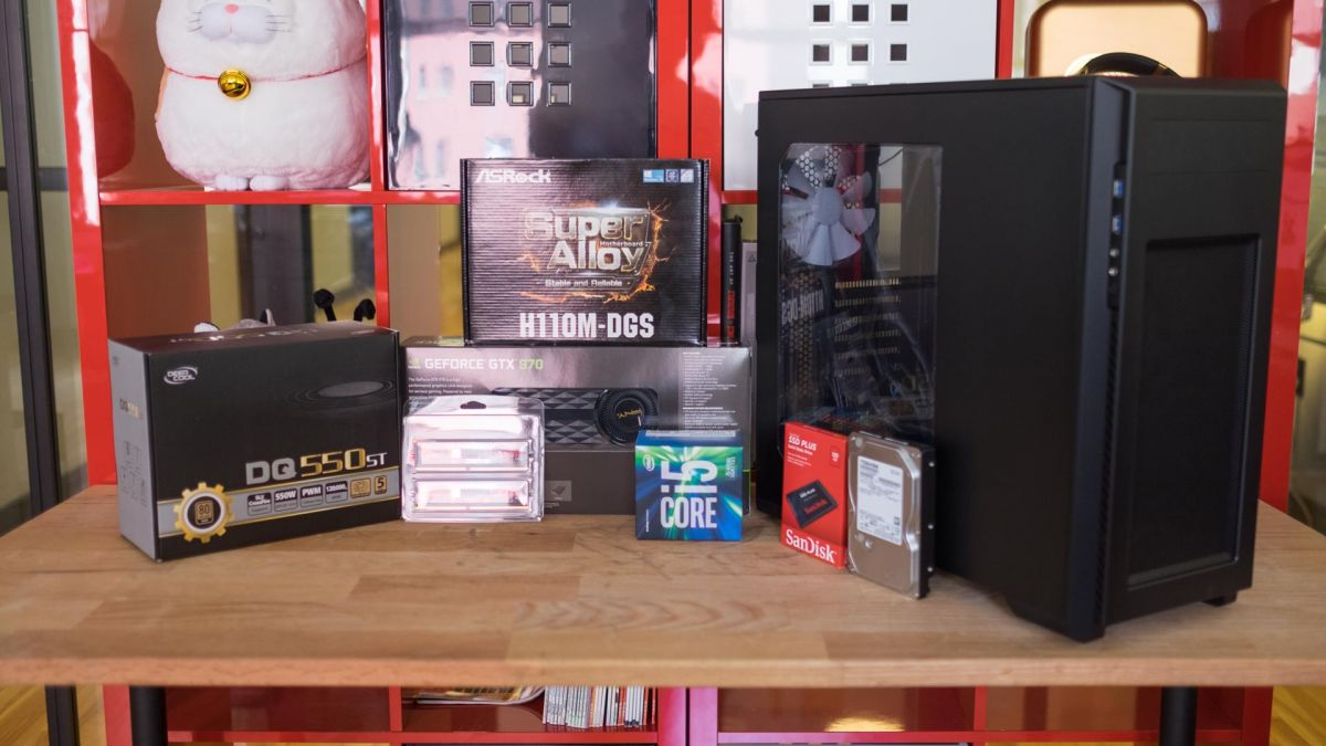 how to build a quiet gaming pc