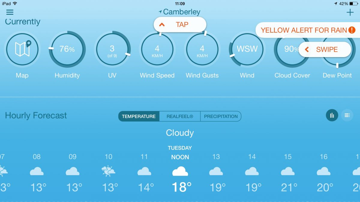 Accuweather App For Iphone Not Working