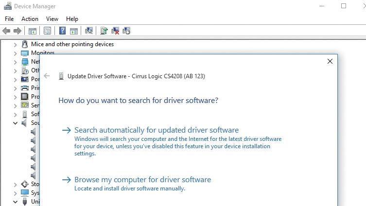Cirrus logic cs4208 driver windows 7