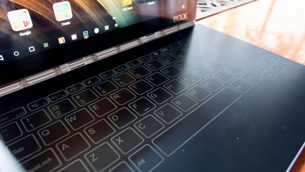 IFA 2016: The Lenovo Yoga Book finally makes dual screen tablets a