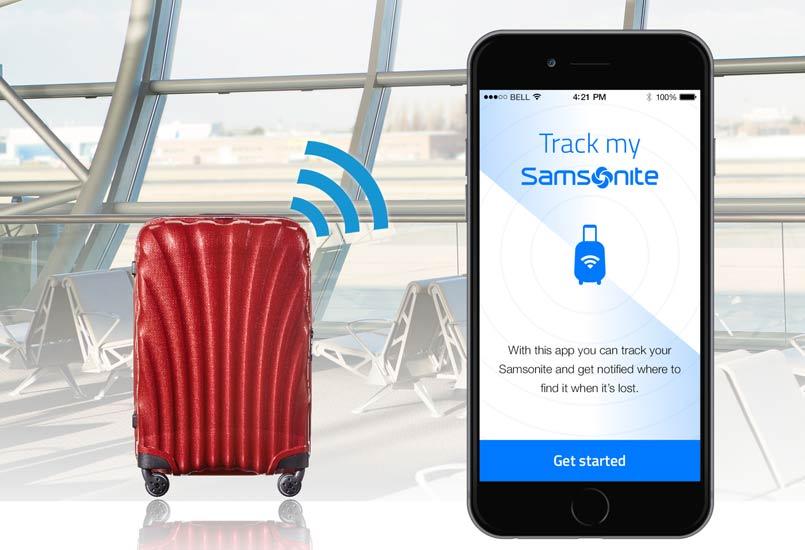 Samsonite to install Bluetooth tracking beacons into