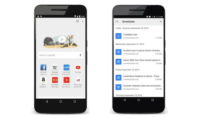 Google Chrome Beta For Android Gets Data Saver For Videos Offline