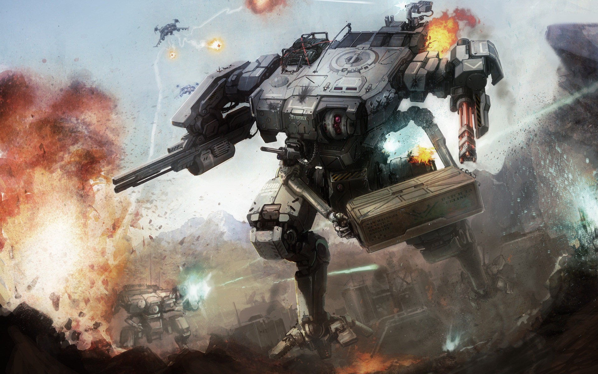 Mech Strategy Game BattleTech – First Look At Single-Player