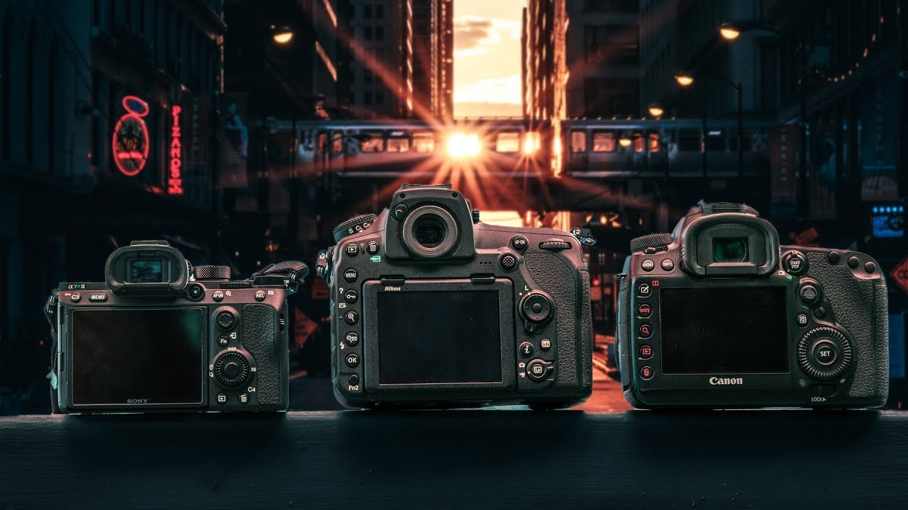 Full-frame showdown: Nikon D850 vs Canon 5D IV vs Sony a7R III