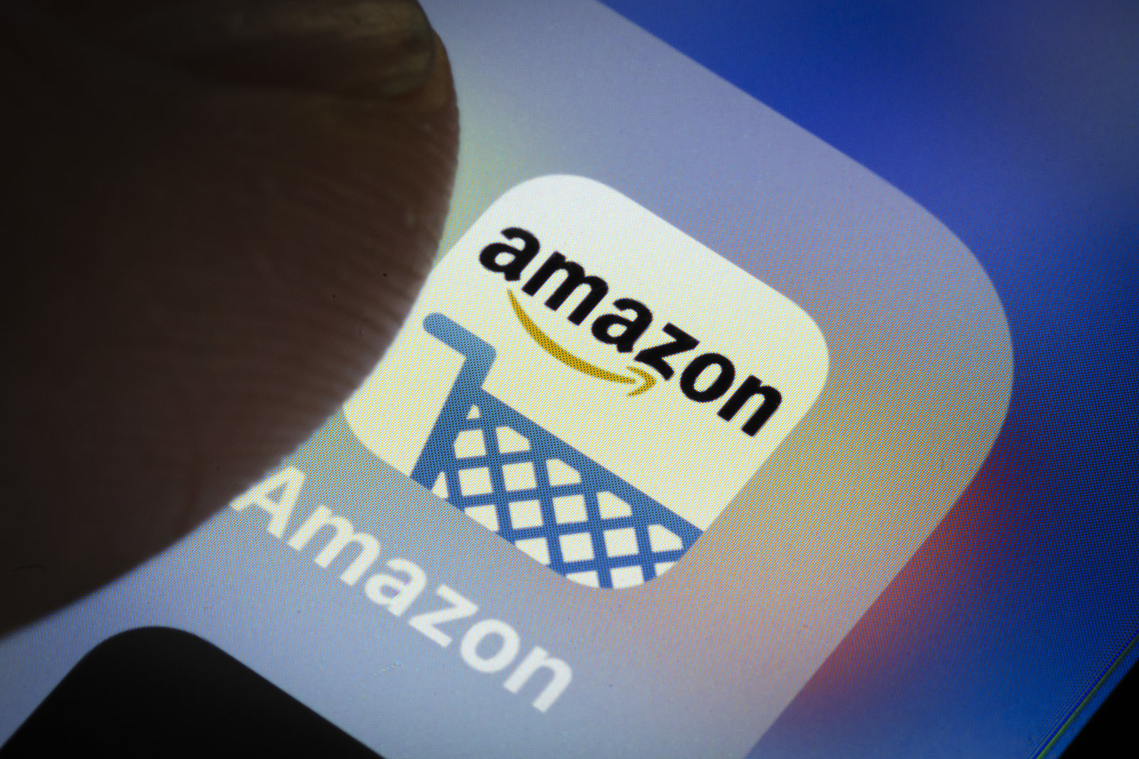 Berlin, Germany - March 20: In this photo illustration the app of American electronic commerce and cloud computing company amazon is displayed on a smartphone on March 20, 2018 in Berlin, Germany. (Photo Illustration by Thomas Trutschel/Photothek via Getty Images)