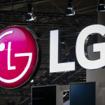 The LG logo is seen during MWC 2019. The MWC2019 Mobile World Congress opens its doors to showcase the latest news of the manufacturers of smart phones. The presence of devices prepared to manage 5G communications has been the hallmark of this edition. (Photo by Paco Freire / SOPA Images/Sipa USA)