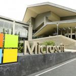 Letrero de Microsoft Corp. afuera de las oficinas de la empresa en Redmond, Washington, el 3 de julio de 2014. Microsoft dio a conocer el miércoles 22 de enero de 2015 los nuevos beneficios de su nuevo sistema operativo Windows 10. (Foto AP/Ted S. Warren, File)