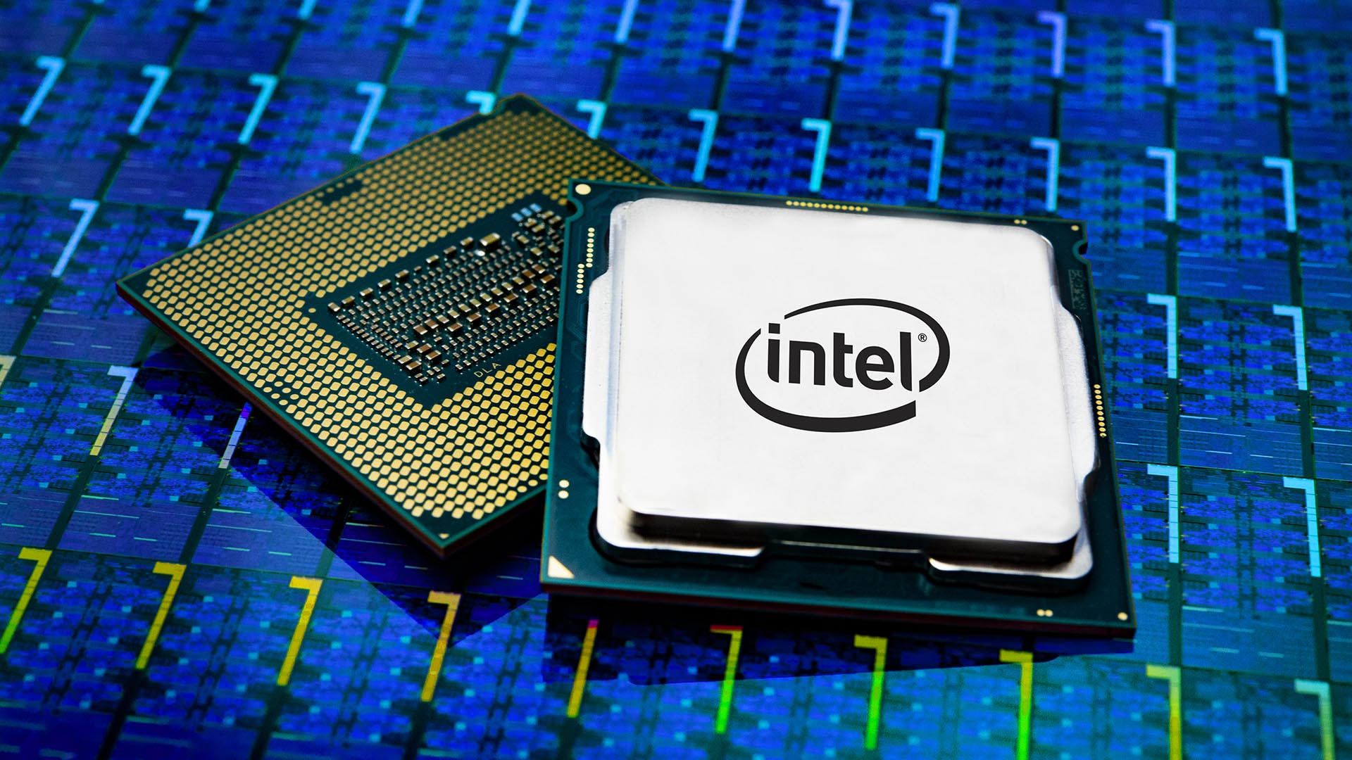 A photo released Oct. 8, 2018, shows a 9th Gen Intel Core processor packages. The processor family is optimized for gaming. (Source: Intel Corporation)