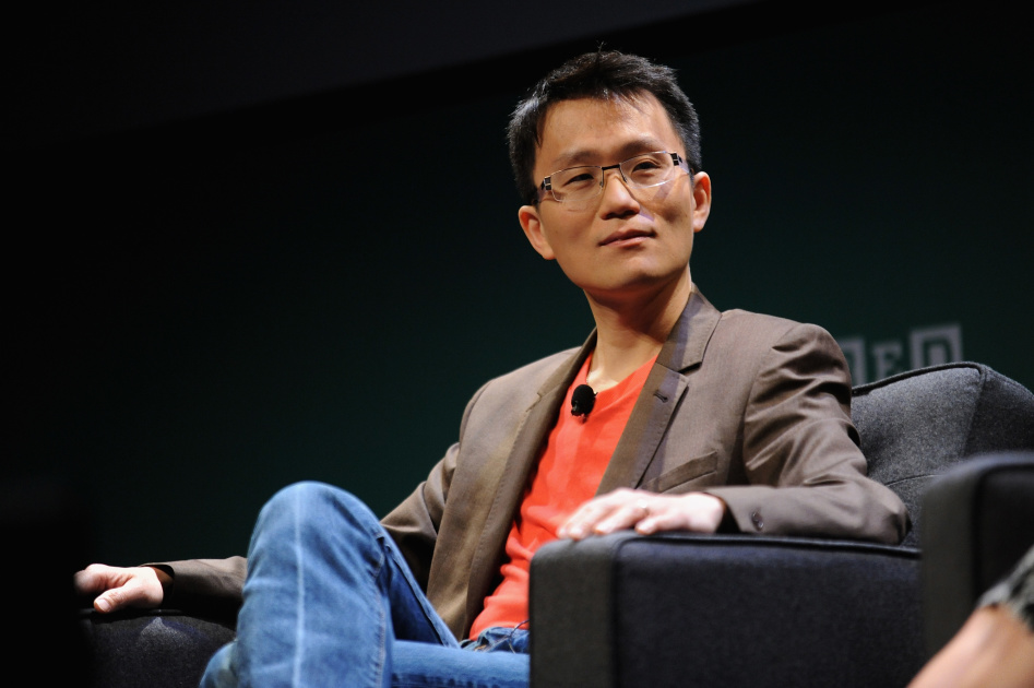 NEW YORK, NY - MAY 12:  Allen Lau, Cofounder & CEO, Wattpad speaks onstage at the WIRED Business Conference 2015 at Museum of Jewish Heritage on May 12, 2015 in New York City.  (Photo by Brad Barket/Getty Images for WIRED)