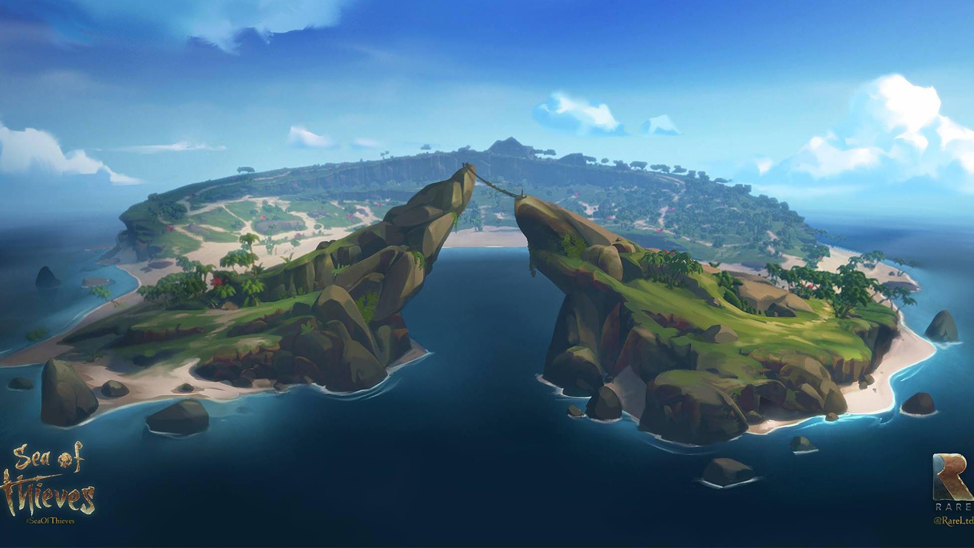Sea of Thieves island