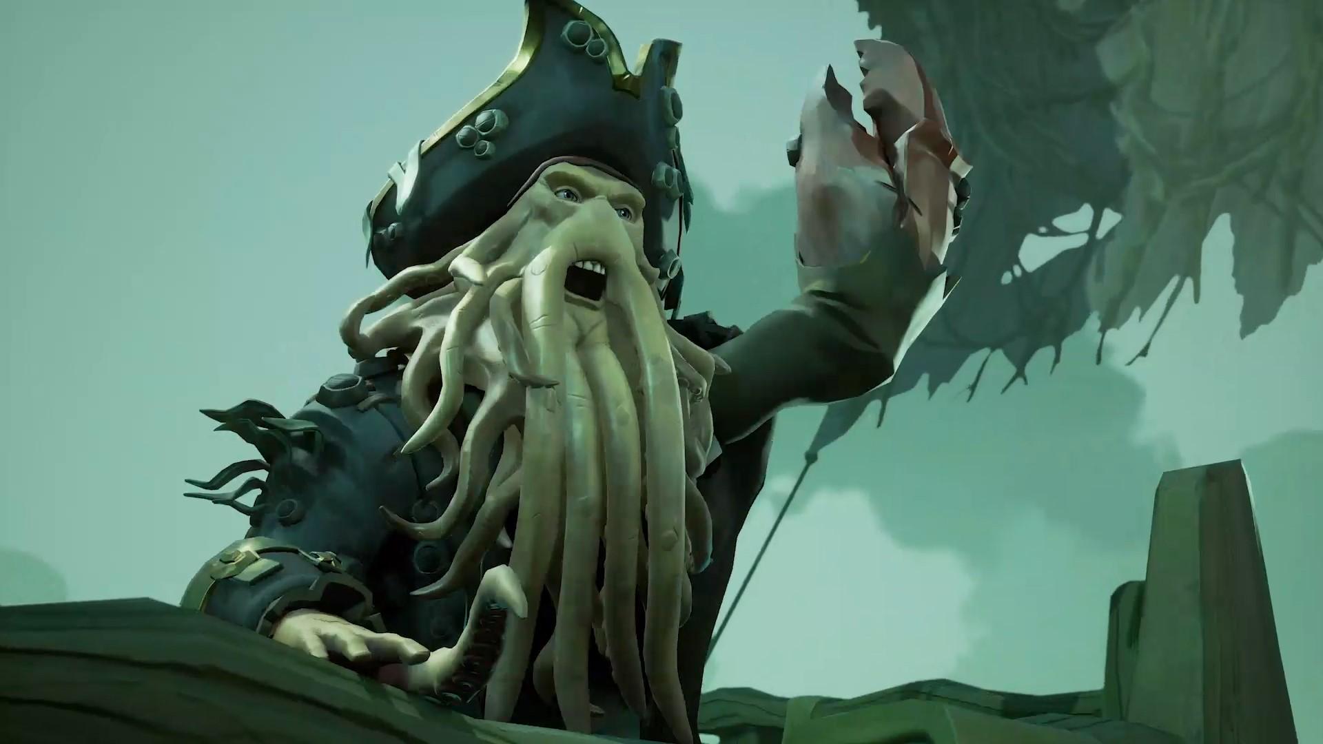 Davy Jones in Sea of Thieves