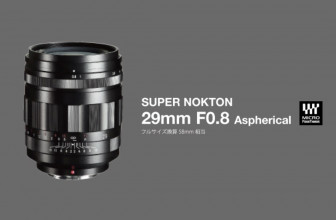 Cosina Japan reveals its ultra-fast Voigtlander Super Nokton 29mm F0.8 lens for MFT systems