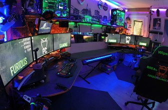 This crazy PC gaming cave took 8 years to build