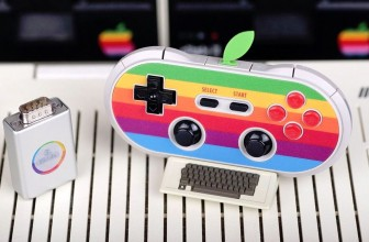 This retro game controller will even work with an Apple II