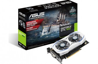 ASUS Unveils 75W GeForce GTX 950 Graphics Card; Powered Entirely By PCIe Slot
