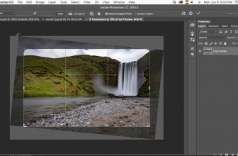 Adobe makes cropping and retouching in Photoshop CC easier
