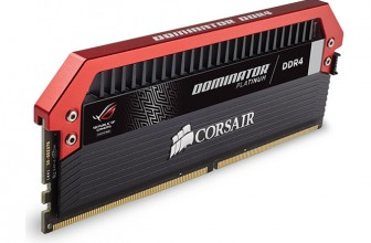 Corsair Launches Dominator Platinum Memory Modules for ASUS ROG Systems