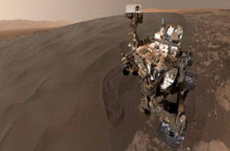NASA's Curiosity rover sends yet another selfie from Mars