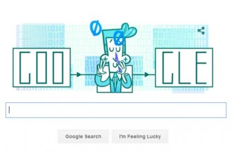Google doodle marks Claude Shannon's 100th birthday
