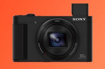 Sony's bantam HX80 compact camera packs a brobdingnagian zoom