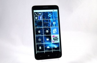 Hands-on review: CES 2016: Alcatel Fierce XL with Windows 10 Mobile
