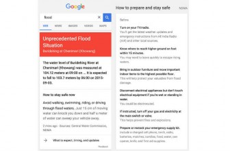Google launches flood alerts for India, available via Google Public Alerts