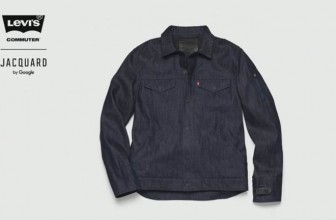 Now control your smartphone with jacket developed by Levi's, Google