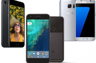 Google Pixel vs Apple iPhone 7 vs Samsung Galaxy S7: Price, specifications, features compared