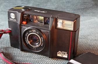 The Minolta AF-S V 'Talker' Was an 80s Camera That Spoke to You
