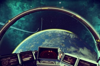 Watch No Man's Sky running in VR