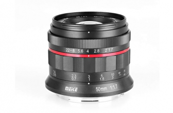 Meike releases 50mm F1.7 full-frame budget lens for Canon EOS-R, Nikon Z cameras