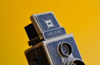 VIDERE 35mm DIY Cardboard Pinhole Camera Uses 35mm Film Rolls