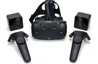 HTC Vive review: The most immersive VR headset of 2016 | Vive room scale tracking and bespoke controllers allow you to walk around and interact with the virtual world