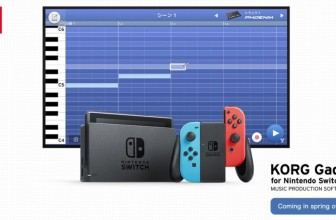 Nintendo Switch is getting a synth-fuelled music-making app from Korg