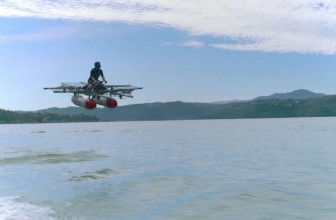 Watch Google co-founder's flying 'car' take to the sky