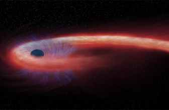 This huge black hole ripped apart a star, then fed on it for a decade
