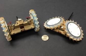 This origami-inspired robot might hitch a lift on the next Mars rover