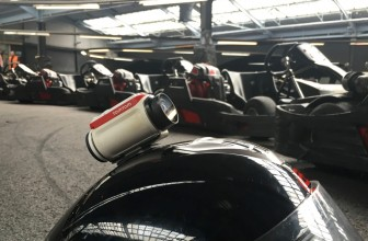 Pocket-lint Adventures: Go karting with the TomTom Bandit