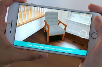 Amazon's iOS app now features augmented reality shopping