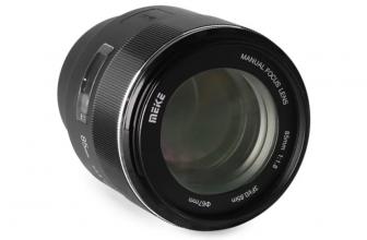 Meike announces an 85mm F1.8 lens for Sony E-mount cameras