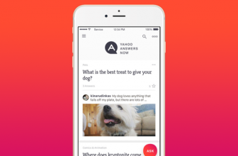 Yahoo brings its Q&A site to mobile via a new app, Yahoo Answers Now