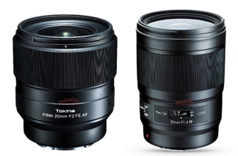 Leaked: Tokina to announce Opera 50mm F1.4 FF and FíRIN 20mm F2 FE AF lenses