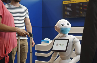Pepper the robot can politely suggest you wear a damn mask