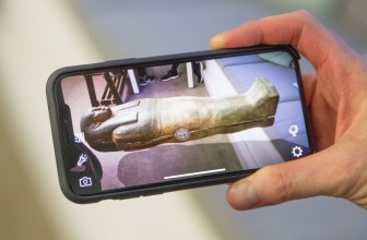 This new BBC app uses AR to put the Rosetta Stone on your coffee table