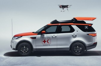 Land Rover has created a car that comes complete with a life-saving drone