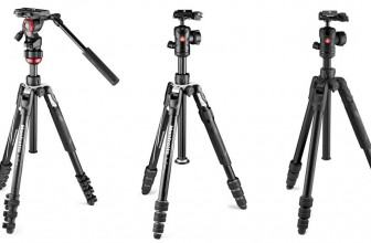 Manfrotto welcomes tripod triplet into its Befree family