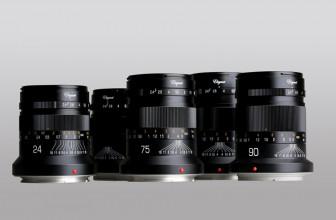 Kipon announces five 'Elegant' F2.4 prime lenses for Canon RF and Nikon Z mounts
